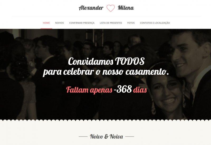 Sites para casamentos