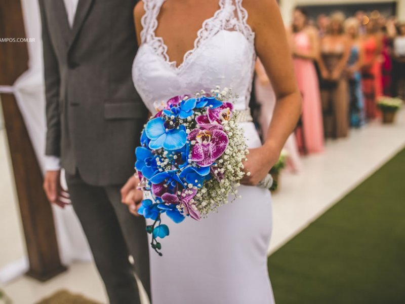 Bouquet de noiva orquideas