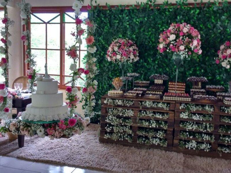 Mesa de doces - Casamento