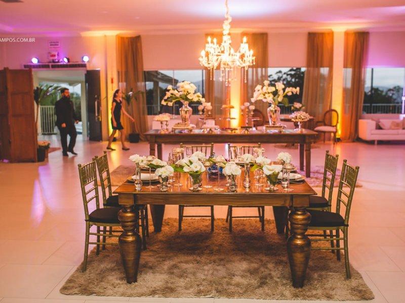 Mesa principal - Casamento
